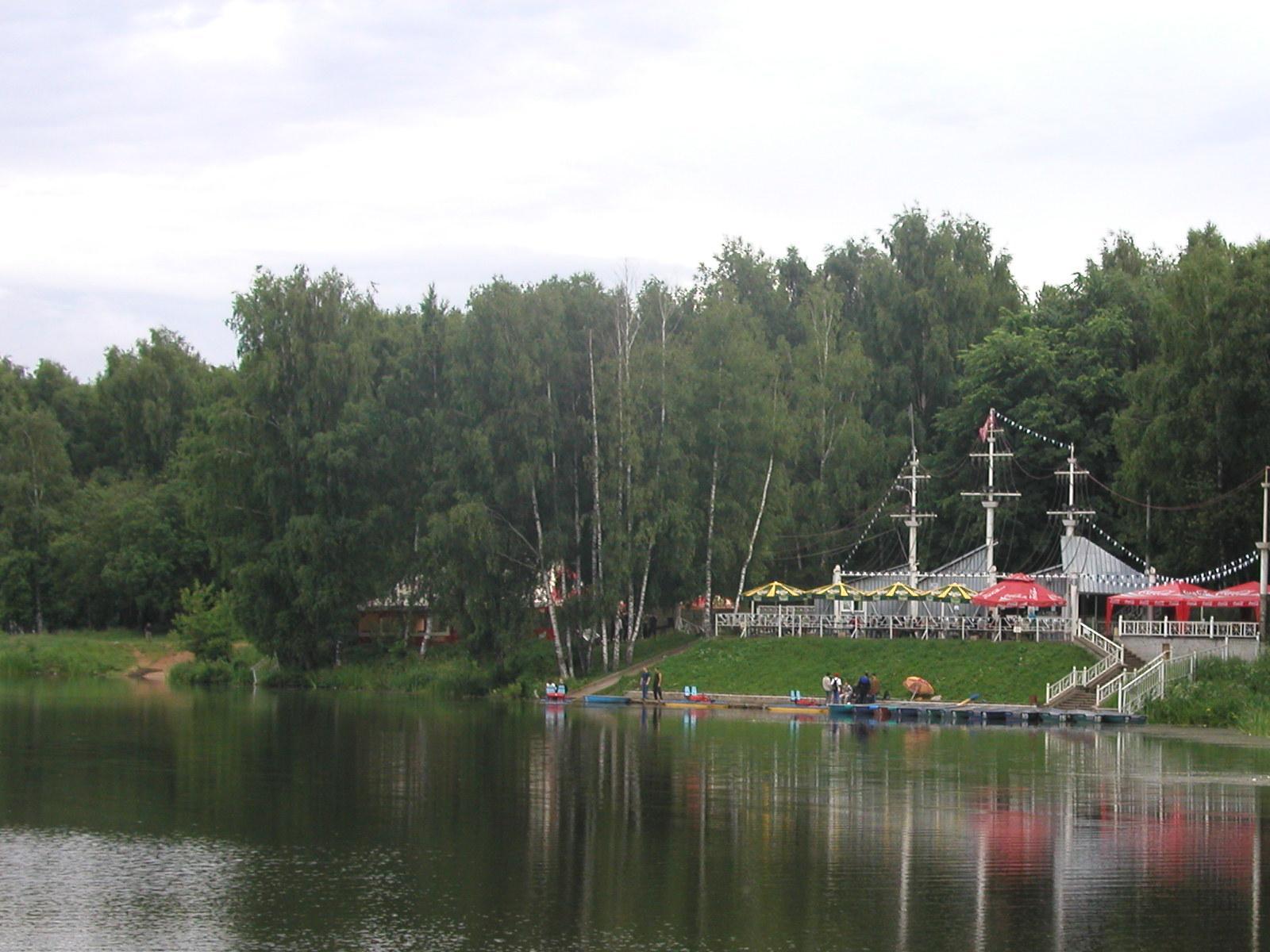 лодочная станция юдино
