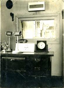 Студия клинского радио в послевоенные годы