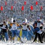 Ski-track of Russia